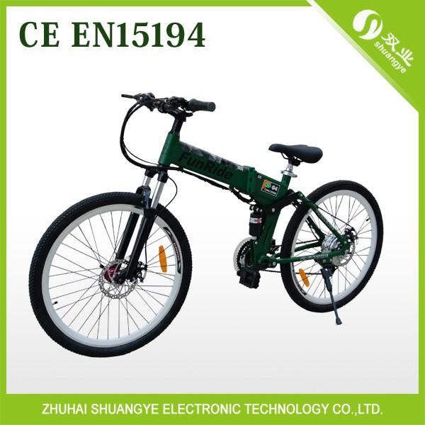 2015 new design folding electric mountain bike(China (Mainland))