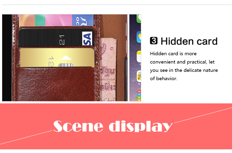 Business Leather Wallet With Stand Case For iPhone 6 S 6S 4.7″ Phone Bag Cover For iPhone 6 Plus 6S Plus 5.5 Coque Card Slot
