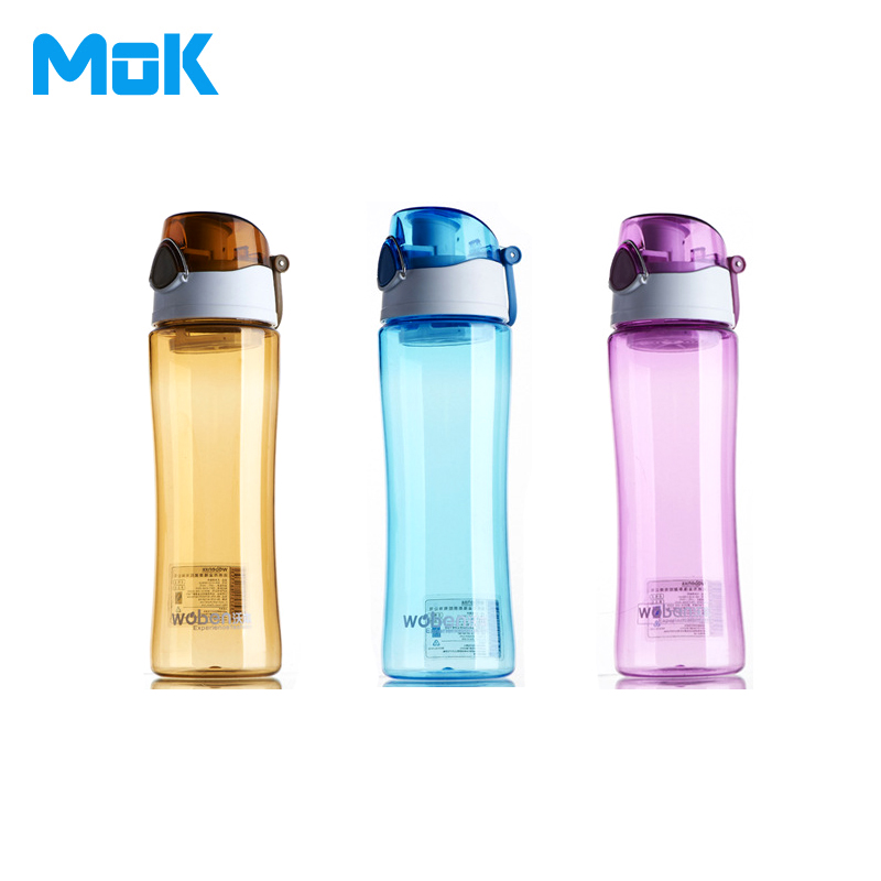 Pu'er Tea+Portable Plastic Sport Water Bottles Dual Locked Leak Proof 600ml With Fliter Bicycle Fruit My Transparent Brand Cups(China (Mainland))
