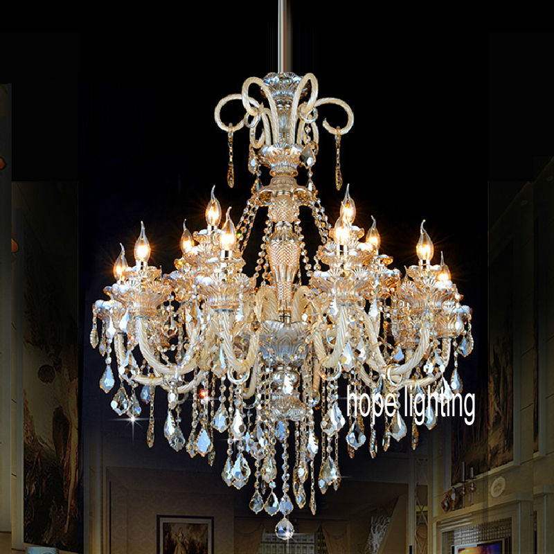 Crystal chandeliers for dining