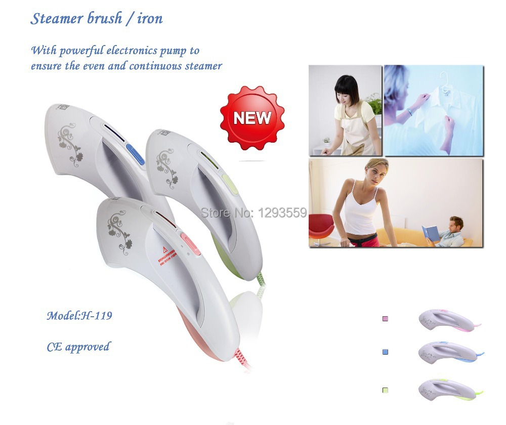 High-tech Electronics pump heating system to ensure even and continuous steam,best steam iron/cleaner you ever know(China (Mainland))