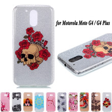 Buy Motorola Moto G4 / G4 Plus 5.5'' Case Luxury Bling Soft Silicone Case 3D Cartoon Back Cover Funda Motorola Moto G4 Plus for $2.51 in AliExpress store