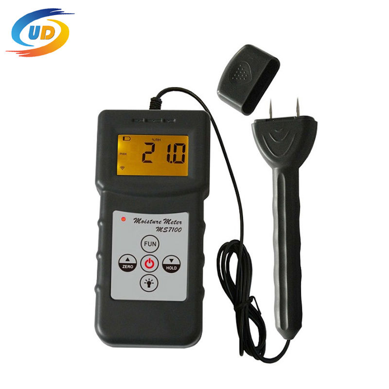 Woodwork Moisture Test Paper Making Flakeboard Furniture Timber Moisture Meter MS7100(China (Mainland))