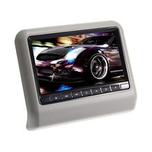 "9"" Digital HD LCD Screen Car Pillow Headrest Monitor DVD/USB/SD Player IR/FM AS(China (Mainland))"