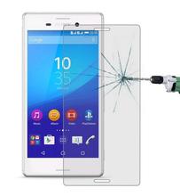 Удивительные 9 H 0.3 мм 2.5D нанометр закаленное стекло протектор для Sony Xperia M4 аква E2303 E2353 E2306 E2333 E2363 E2312