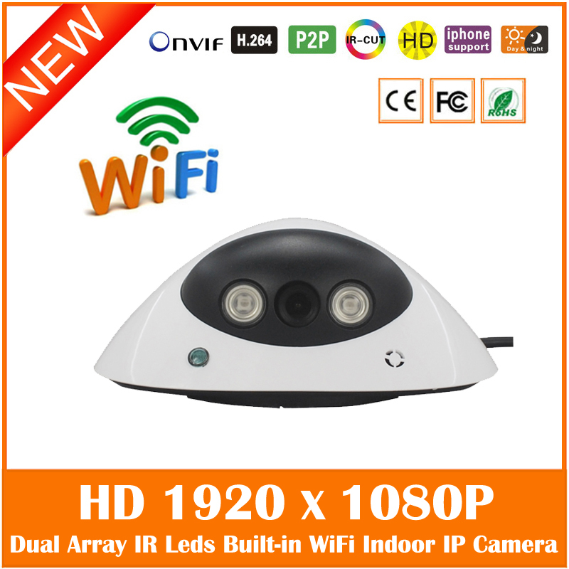 hd 1080p wi fi dome ip camera onvif home security. Black Bedroom Furniture Sets. Home Design Ideas
