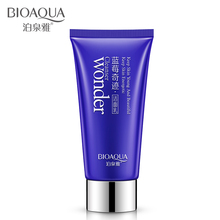 BIOAQUA Blueberry Wonder Facial Cleanser Plant Extract Facial Cleansing Rich Foaming Face Cleanser Moisturizing Face Skin(China (Mainland))