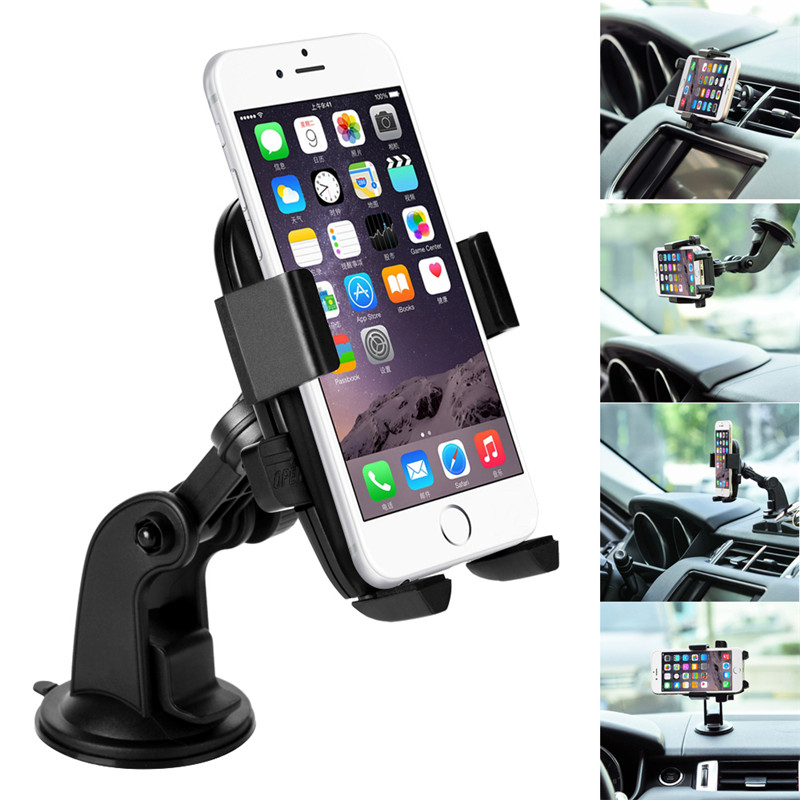 Original Turata Brand Universal 360 Degree Car Mobile Phone Holder GPS Car Air Vent Outlet Mount Sticky Cradle Suction Cup Stand(China (Mainland))