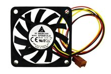 Buy Free Delta EFB0612LA 60x60x10 MM 3Wire 60mm 6cm DC 12V 13.5CFM server inverter axial cooler cooling Fans for $8.75 in AliExpress store