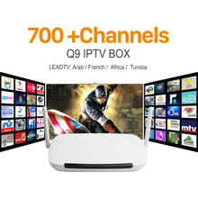 Buy Hot Android 4.4 TV Box 2.4GHz Wifi 1G/8G Smart TV French Germany Italy Arabic Tunisia IPTV Channels Box Europe Media Player for $54.40 in AliExpress store