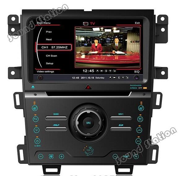 For Ford Edge 2013 2014 Autoradio Car CD DVD GPS Video USB MP3 Player Multimedia Media Center Navigation Radio Stereo Receiver(China (Mainland))