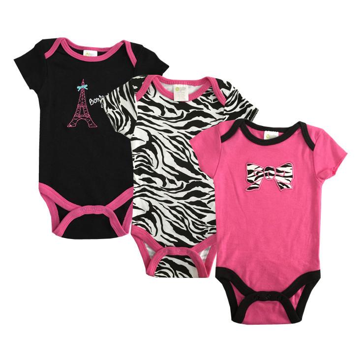 Baby Bodysuits Summer Similar Carters Original Roupa Bebes Newborn Body Baby Girl Boy Bodysuit Clothes Cotton Baby Clothing U-34(China (Mainland))