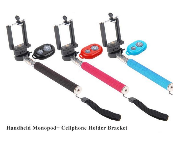 YuJing Selfie Rotary Extendable Handheld Camera Tripod Mobile Phone Monopod+ Wireless Bluetooth Remote Control Smartphone - Shenzhen OEM CASE Co., Ltd store