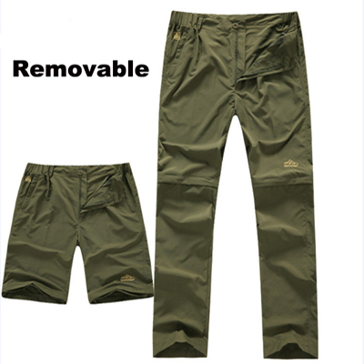 waterproof hiking quick-drying trousers hiking pants shorts mountain outdoor camping tactical mens pants wind and water sports