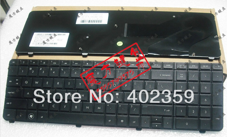 NEW for HP CQ72 G72 laptop keyboard US version(China (Mainland))