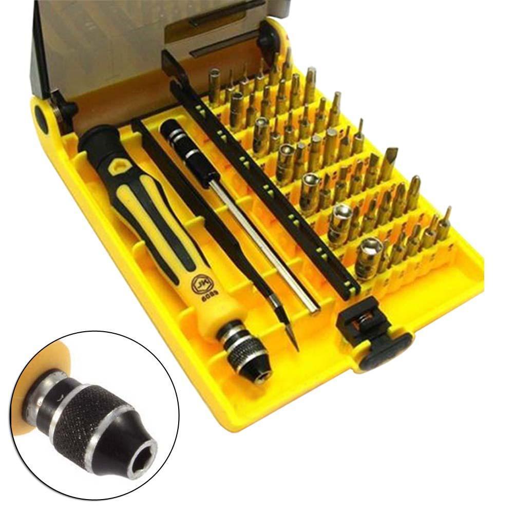 45 in 1 Torx Precision Screwdriver Set For Cell Phone Laptop Repair Tool Kit small screwdriver set Multi-Bit Repair Tools A609(China (Mainland))
