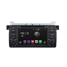 HD1024*600 Quad Core 1.6G CPU 16GB Android 5.1.1 Car DVD Player Radio GPS Navi Stereo for BMW M3 E46 1998 1999 2000 2001-2005
