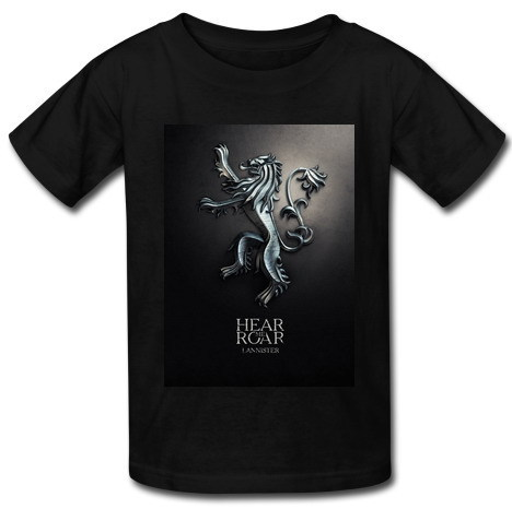 A song of ice and fire t shirt men 39 s fashion hot sale diy for Custom fire t shirts