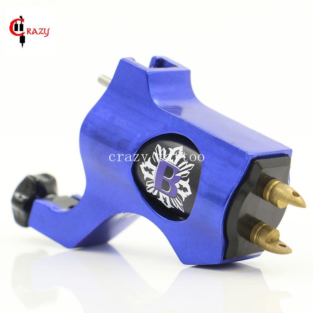New Rotary Tattoo Machine Bishop Style Blue Colors Tattoo Machine For Tattoo Shader Liner Fashion Tattoo Machine Free Shipping(China (Mainland))