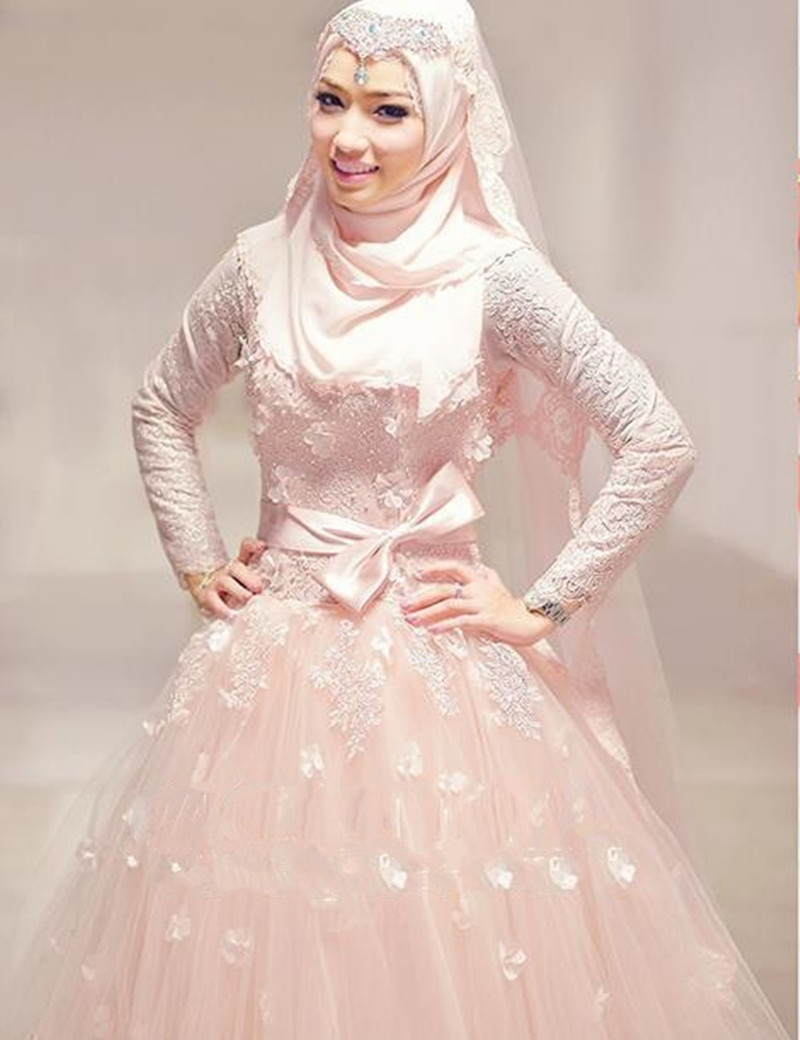 The gallery for malaysian muslim bride for Cheap wedding dress malaysia