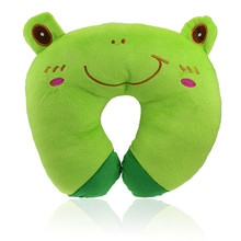 Cute Cartoon pillow decorative pillow Car Home Office Accessory Pillow Cushion and Washable U Shaped Neck Relax Pillow(China (Mainland))