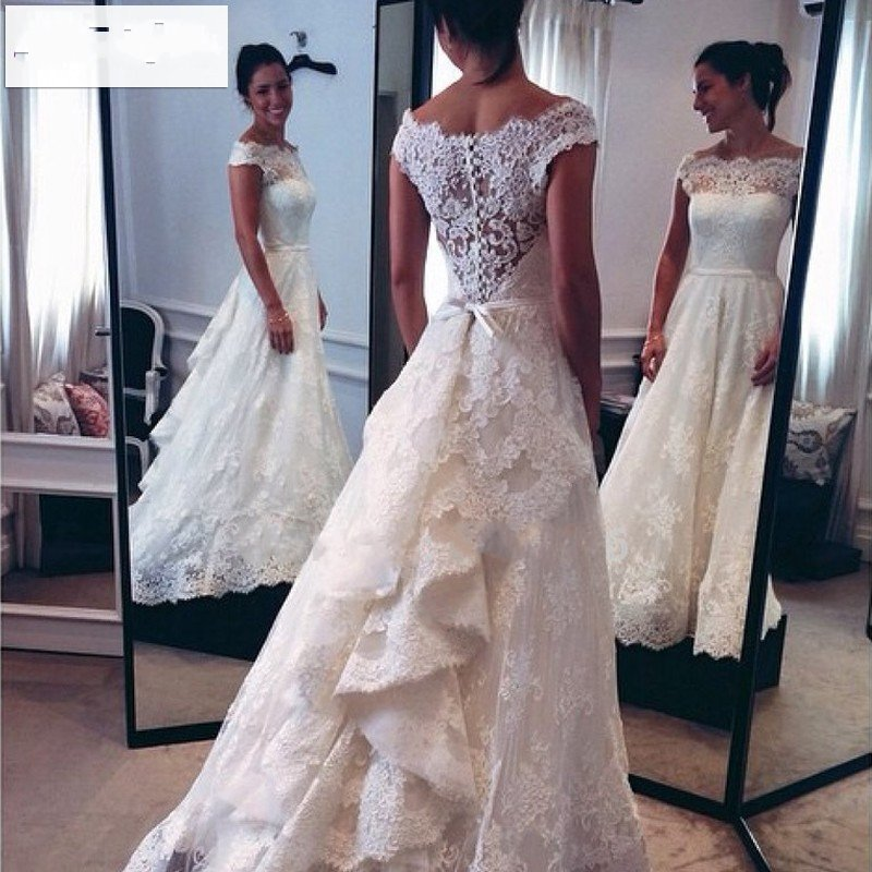 Popular audrey hepburn style wedding dress buy cheap for Audrey hepburn inspired wedding dress