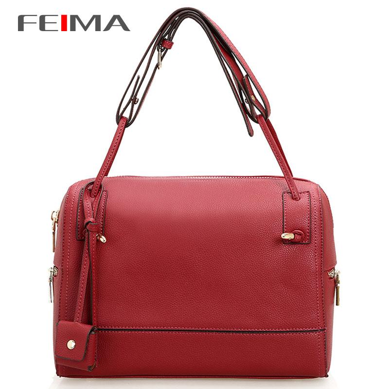 Promotion Women Genuine Leather Handbags New Arrival Genuine Leather Tassel Women Handbag Shoulder Bag Messenger Bag Handbags<br><br>Aliexpress