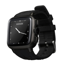"DOOGEE S1 Bluetooth Smart Watch Cellphone 3G Android 4.4 MTK6572 Dual Core SIM 1.54"" IPS 512MB + 4GB 5.0MP Camera Mic Heart Rate(China (Mainland))"
