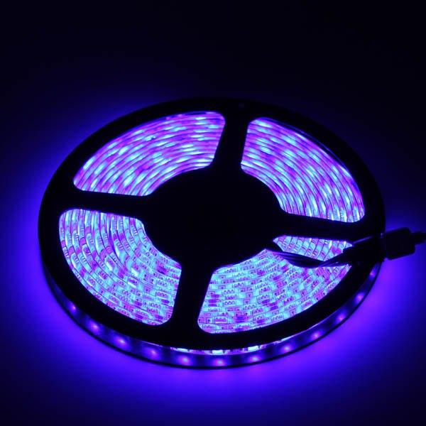 5 Meters 12V 300 LEDs 5050 SMD LED Strip Lights RGB Light Waterproof LED Strip Lights With Remote Controller Decoration LB00109(China (Mainland))