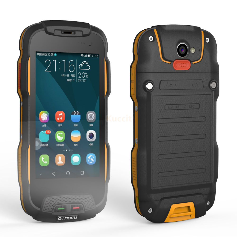 Original Oinom T9h Ip68 Rugged Waterproof Phone 4g Lte Smartphone Lenovo A859 With Quadcore And 1gb Ram 5 A Charger Dock Station