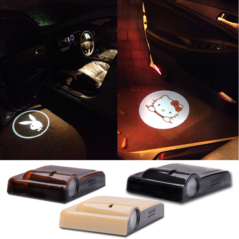 2pcs Universal vehicle Car Projection LED Projector Door Logo Light Lights Kit Magnet Sensor LOVE for Wedding Marriage Proposal<br><br>Aliexpress