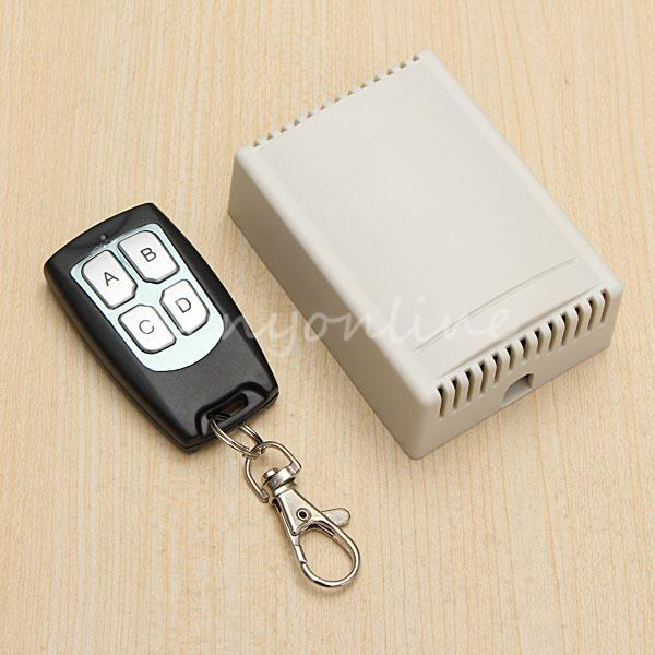 New Arrival for DC 12V 4CH Small Channel Wireless Remote Control Radio Switch 433mhz Transmitter Receiver