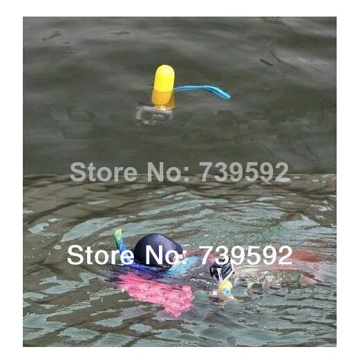 High Quality 1PCS Yellow Hot Sell Gopro Bobber Floating Handheld Stick Floaty Grip For GoPro Hero3+/Hero3/Hero2/1 Free Shipping(China (Mainland))