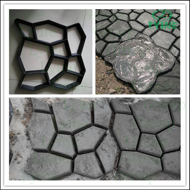 Decorative Cement Slabs : Diy decorative concrete slab mold plastomer for tile g