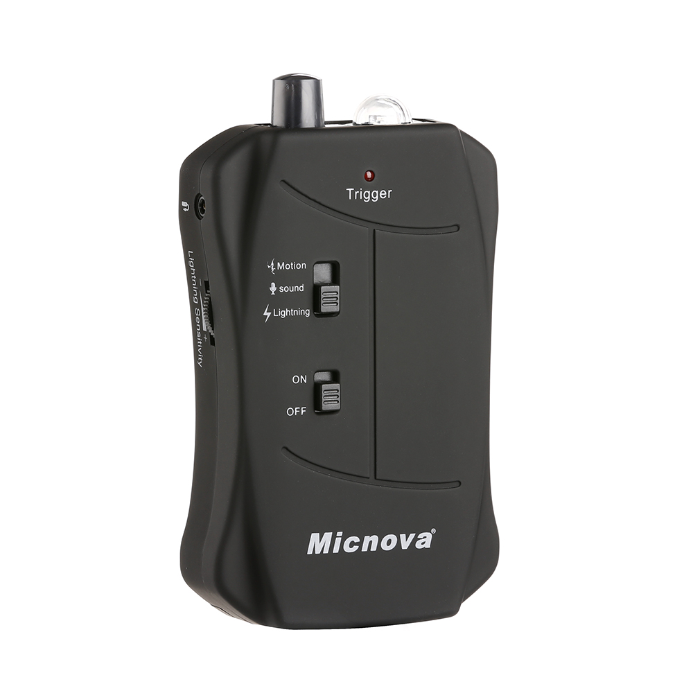 Micnova MQ-VTN Shutter Trigger with Motion Lightning Sound 3 Triggering Mod Flash Trigger Compatible for Nikon DSLR Cameras(China (Mainland))