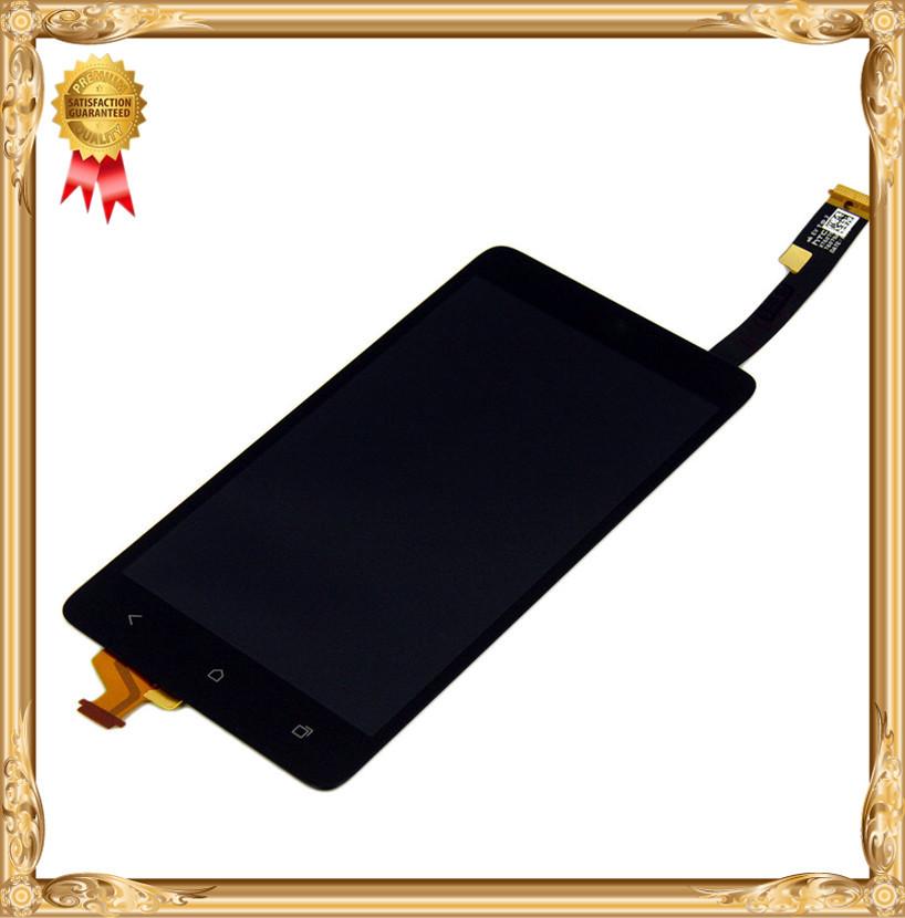 Новый ~ЖК-дисплей + Сенсорный экран digitizer Ассамблеи для НТС Desire 400
