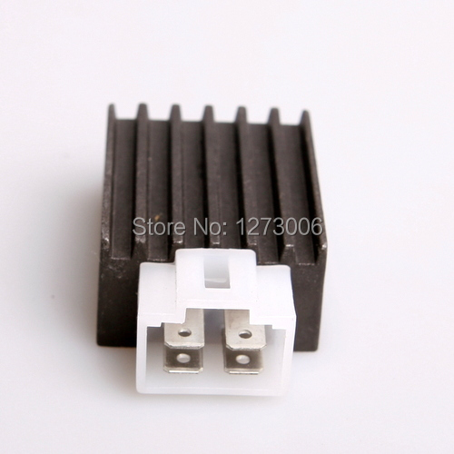 Universal 1Pcs 12V GY6125 4 Wire Male Plug Voltage Regulator Rectifier Motorcycle ATV 50cc 150cc(China (Mainland))