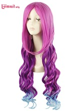 80cm Synthetic Hair Peruca