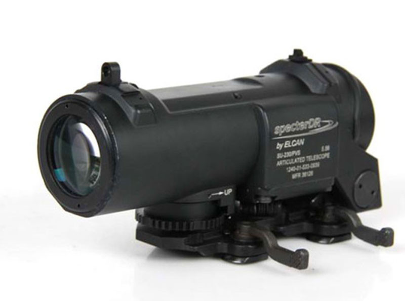 Hot Sale Tactical/Military/Airsoft 4X Rifle Scope with Red Illumination CL1-0058