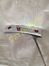 2015 golf clubs silver Newport2.5 putter 33/34/35 inch right hand with steel shaft 1pcs golf putter free headcover(China (Mainland))
