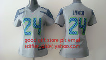 100% stitched women Seattle Seahawks ladies 3 Russell Wilsons 11 Percy Harvin 12 Fan 24 Lynch seahawk 88 Jimmy Graham(China (Mainland))