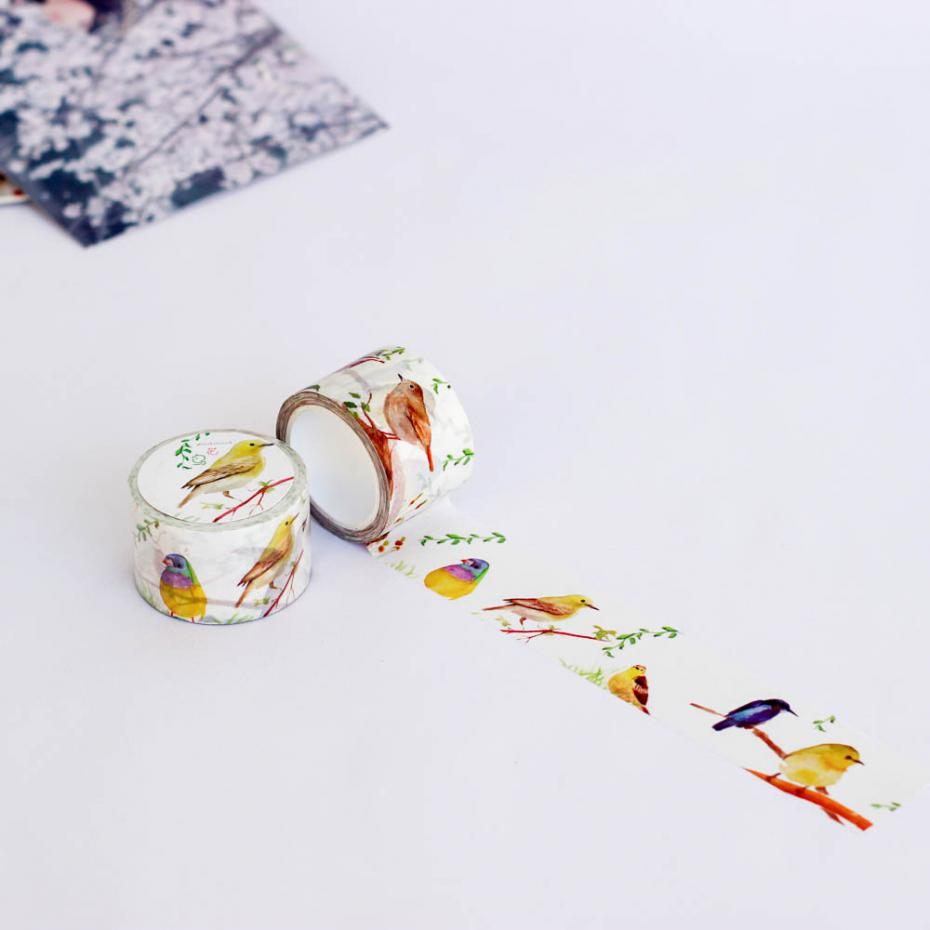1 Pc / Pack Diy Japanese Paper Washi Masking Tapes Florid Decorative Adhesive Tapes / School Supplies Size 30 Mm*10m<br><br>Aliexpress