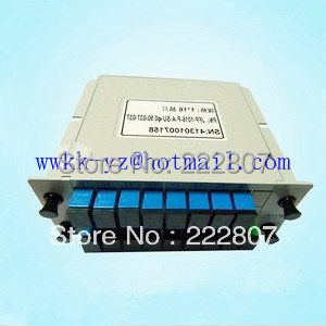 1X16 Fiber Optical PLC Splitter SC/FC/ST/LC PC/APC/UPC connector Metal Container EPON/BPON/GPON - Shenzhen ikway Technology Co.,Ltd store