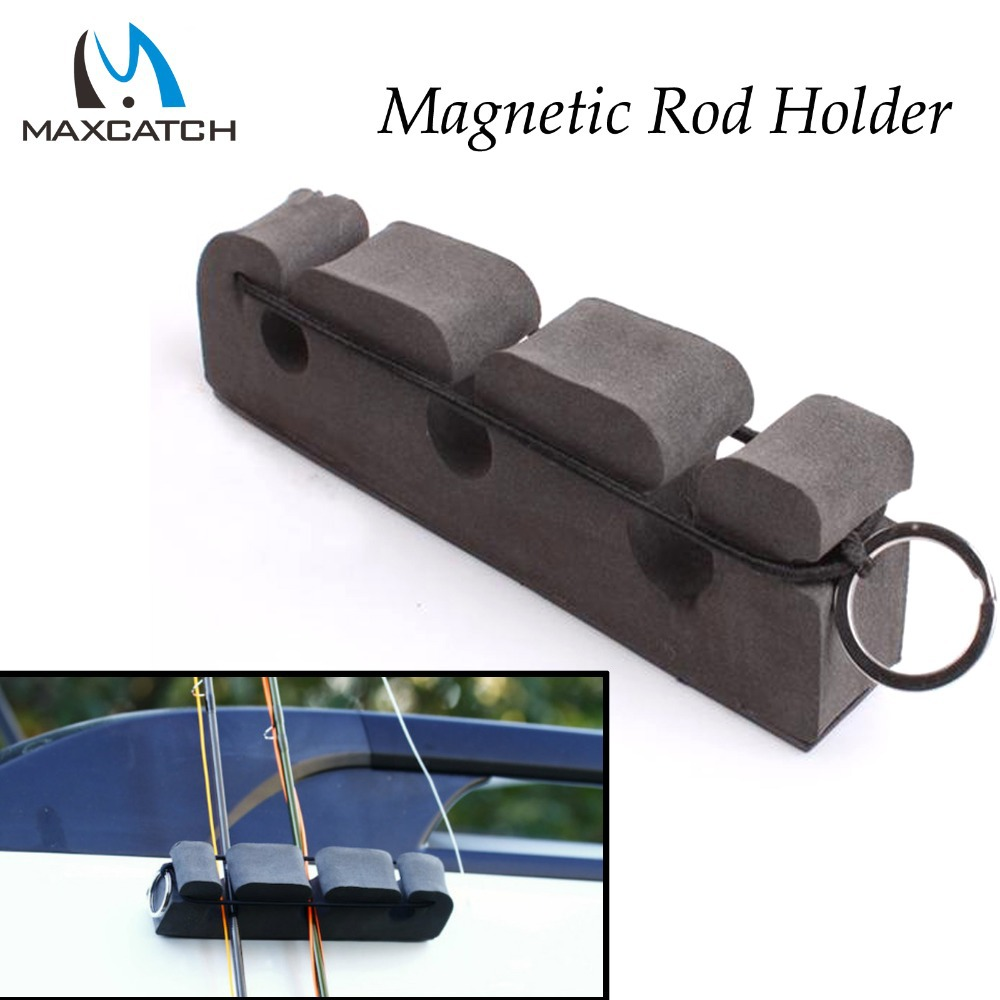 Maxcatch 2Pcs/lot High Quality Portable Fly Fishing Magnetic Rod Holder & Stand Fishing Rod Holder(China (Mainland))
