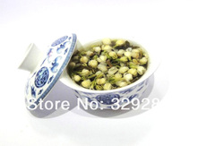 Promotion! 60% DISCOUNT!!!!!!!!!!! Organic Jasmine Flower Tea, Green Tea 100g Gift,Free shipping