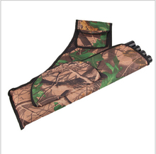 Waterproof Waist Bundled Quiver Camouflage Bionic Camo Bow Bag Pouch Arrow Quiver Archery Supplies Outdoor Hunting