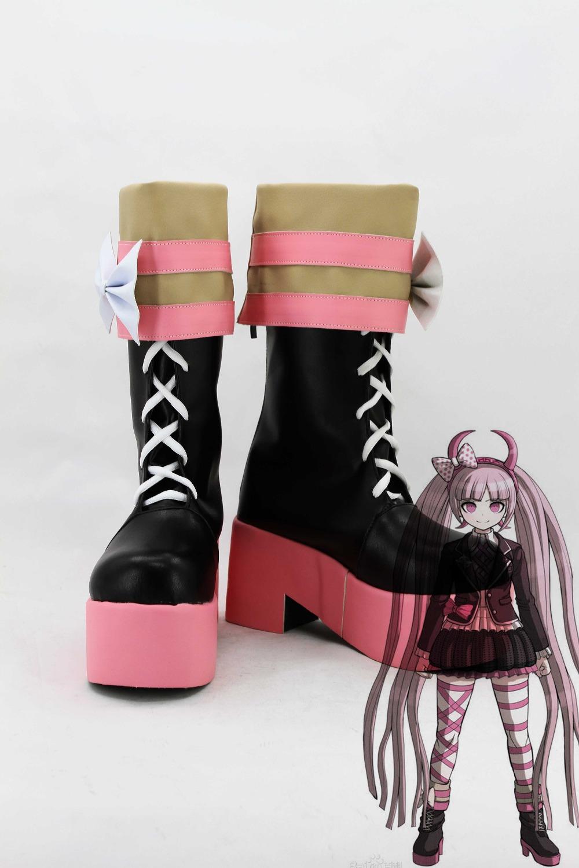 Фотография New male female costumes customize Danganronpa: Trigger Happy Havoc Utsugi Kotoko COSPLAY customized shoes boots costumes