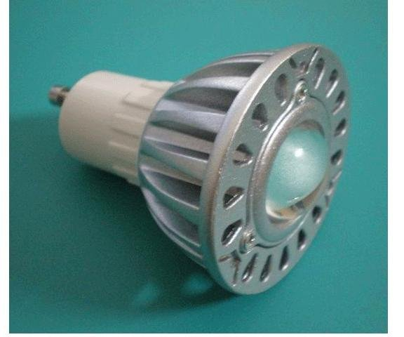 GU10 1*3W led spot light with 85 to 265V AC Input;120lm,large stock;please advise the color you need;P/N:XL-SPGU10WW1PAC-1B