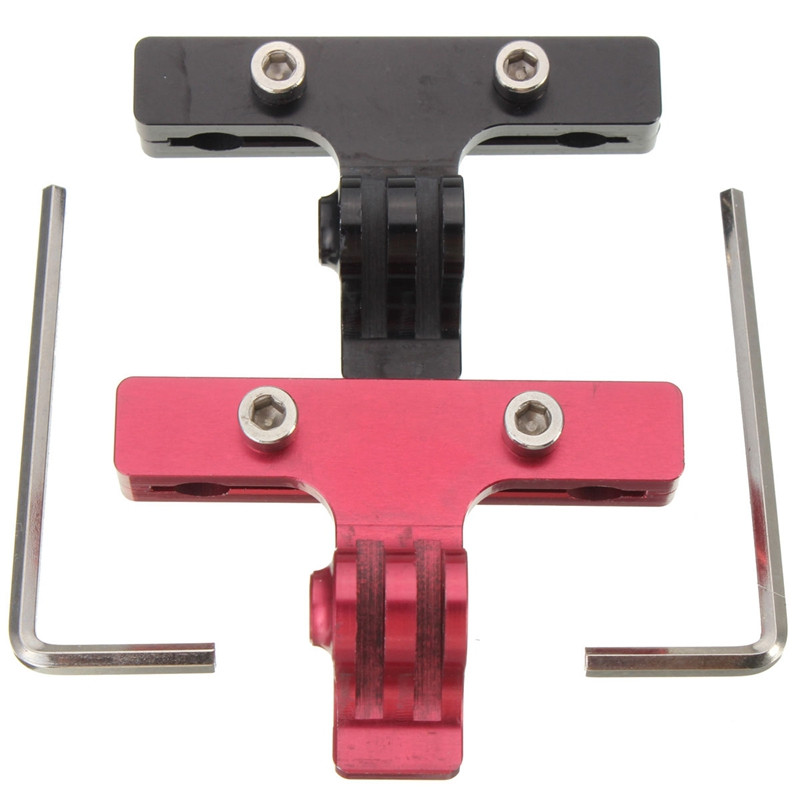 Super Light Aluminium Bicycle Racing Saddle Rail Cycle Bike Seat Clamp Mount For GoPro Hero 2