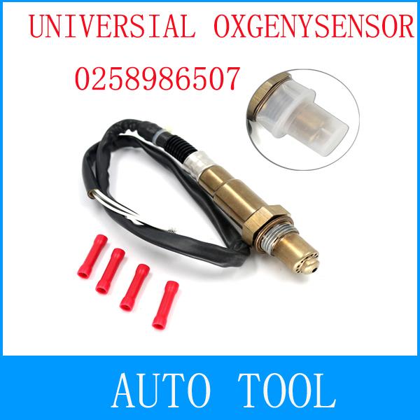 2014 Universal Oxygen Sensor 0258986507 lambda sensor for Citroen Fiat Ford Hyundai Renault Volvo VW, 4 wire o2 sensor(China (Mainland))